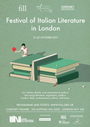FILL - Festival of Italian Literature in London