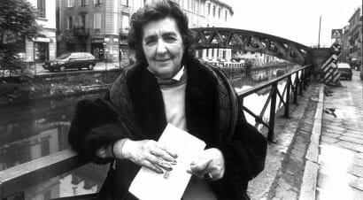 Milano: sui Navigli un ponte dedicato alla poetessa Alda Merini