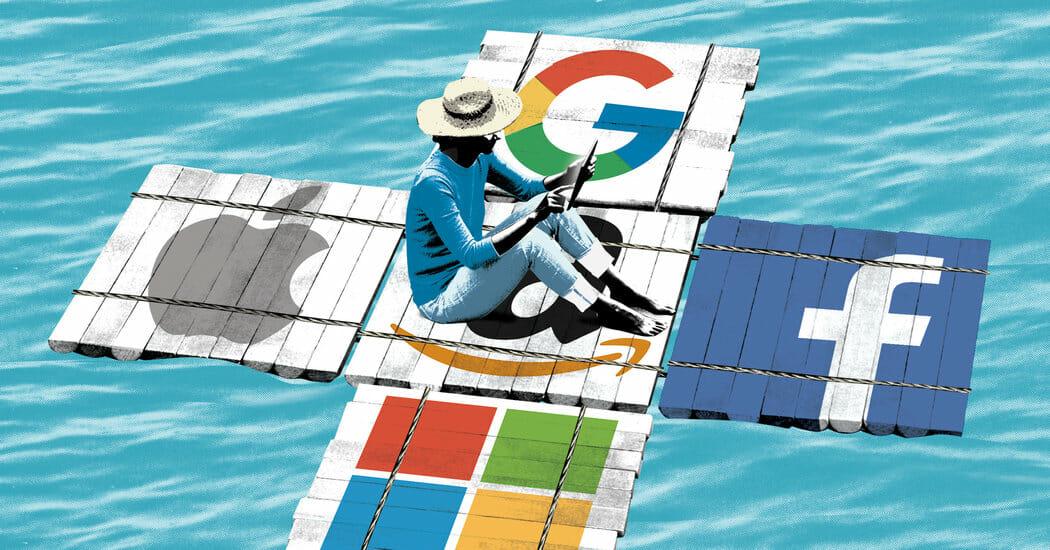 """""""I temibili 5"""": lo strapotere di Amazon, Apple, Facebook, Google e Microsoft"""