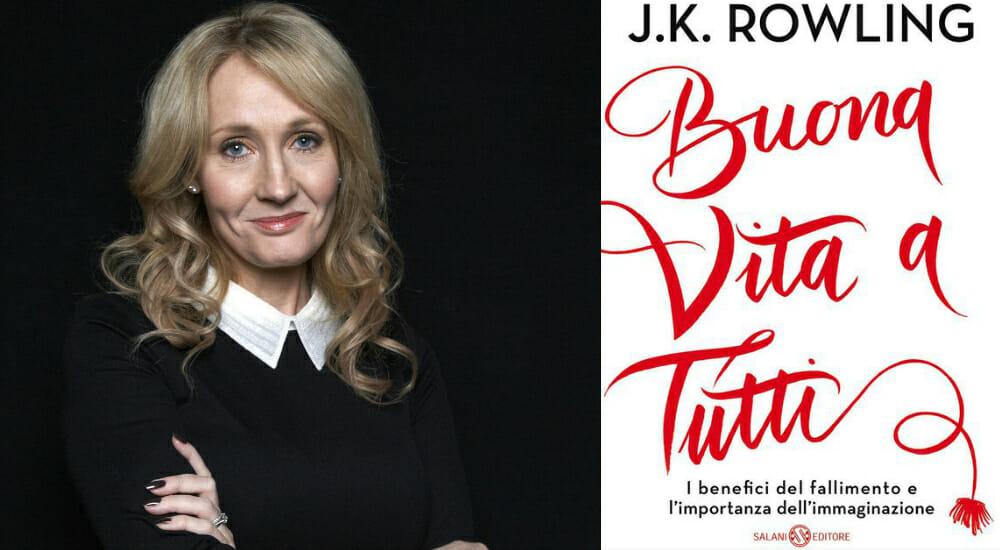 """J. K. Rowling: l'autrice di Harry Potter racconta i """"benefici del fallimento"""""""