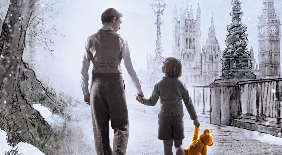 """La storia del creatore di Winnie The Pooh nel film """"Vi presento Christopher Robin"""""""