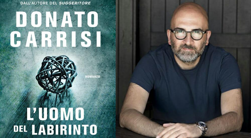 """""""L'uomo del labirinto"""", il nuovo thriller psicologico firmato Donato Carrisi"""