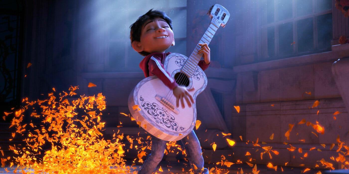 Coco cartone disney pixar trailer trama uscita in italia