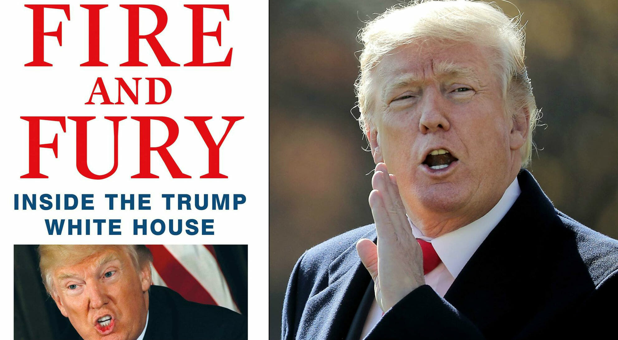 """Il caso """"Fire and Fury: inside the Trump White House"""""""