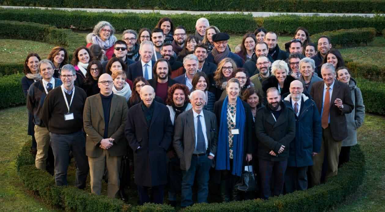 I protagonisti del 36esimo Seminario della Scuola per Librai Umberto e Elisabetta Mauri