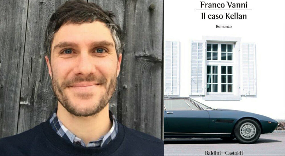 """""""Il caso Kellan"""", il nuovo thriller di Franco Vanni"""