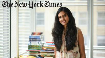 Intervista a Parul Sehgal, critico letterario del NYT, che ha raccolto l'eredità di Michiko Kakutani