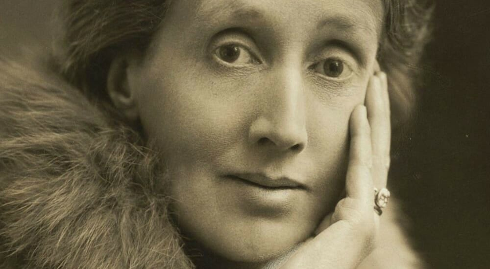 La scrittrice Virginia Woolf