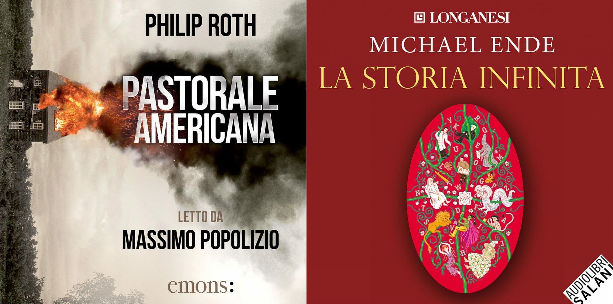"""""""Pastorale americana"""" di Roth e """"La storia infinita"""" di Ende: ascolta il podcast L'audiolibraio"""