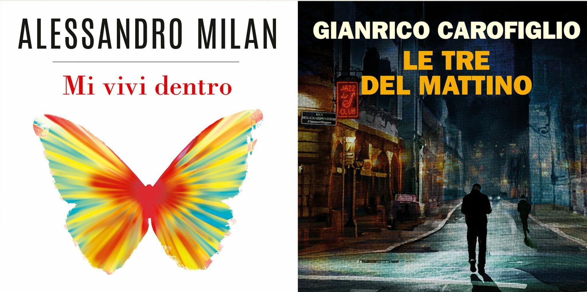 L'audiolibraio: Gianrico Carofiglio e Alessandro Milan protagonisti del podcast