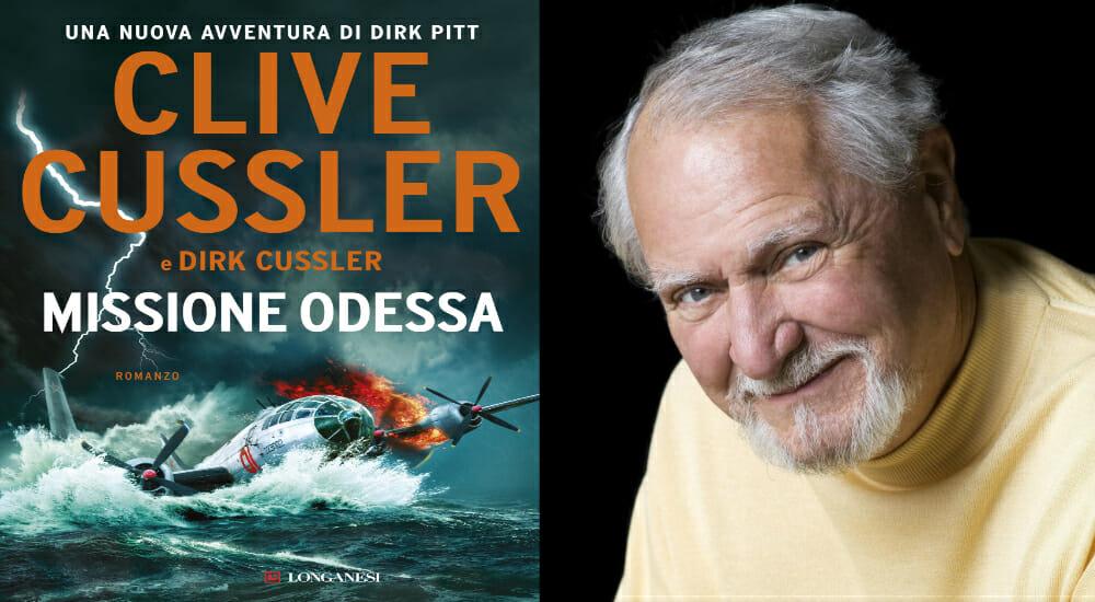 """""""Missione Odessa"""": Cussler torna con la nuova avventura di Dirk Pitt"""