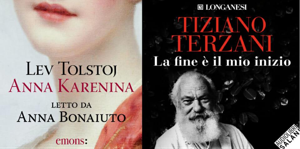 Anna Karenina e Terzani protagonisti de L'audiolibraio: ascolta il podcast