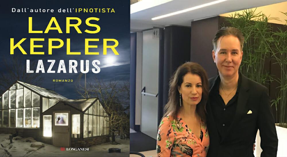 """""""Nel nostro nuovo thriller anche un omaggio a Elena Ferrante"""": incontro con Lars Kepler"""
