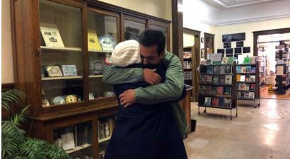 La biblioteca di confine dove si incontrano le famiglie divise da Trump