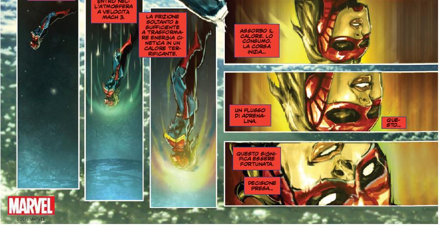 Fumetti: Captain Marvel, una raccolta di 15 storie dedicate alle supereroina