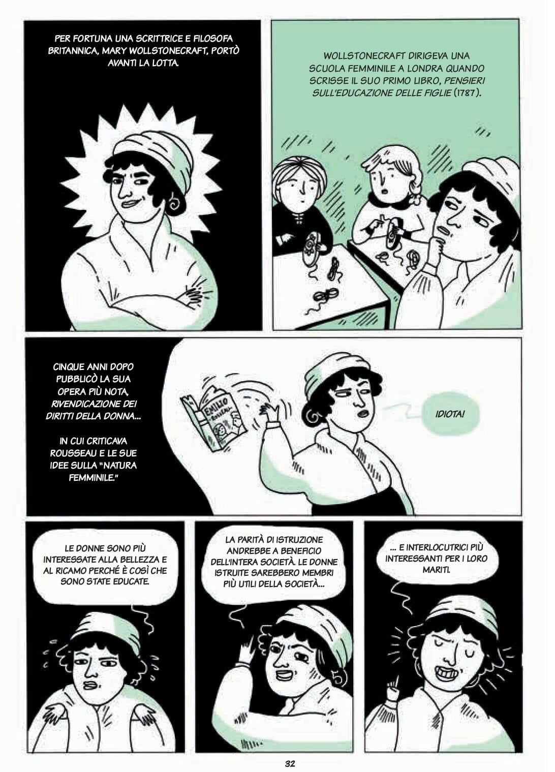 56cd8a4e52a1b Fumetti  storie di donne senza paura per celebrare 150 anni di lotte ...