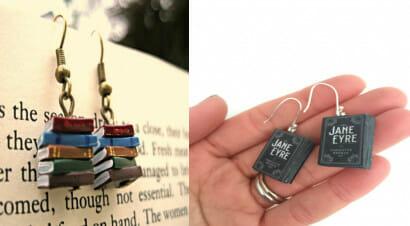 Orecchini letterari: ecco tanti accessori a tema
