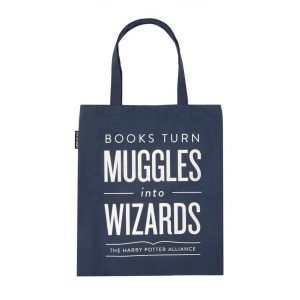 regalo per lettori borsa Harry Potter