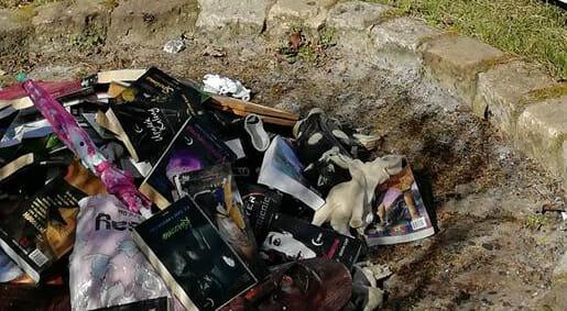 I libri di Harry Potter bruciati in Polonia