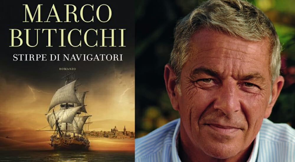 """Marco Buticchi, maestro d'avventura, torna con """"Stirpe di navigatori"""""""