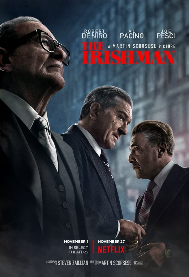The irishman Scorsese