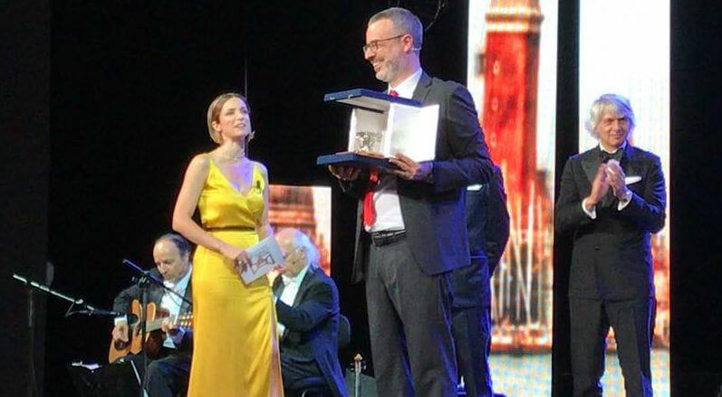 Andrea Tarabbia, il vincitore del premio Campiello 2019