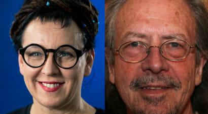 I Premi Nobel per la letteratura a Olga Tokarczuk e Peter Handke