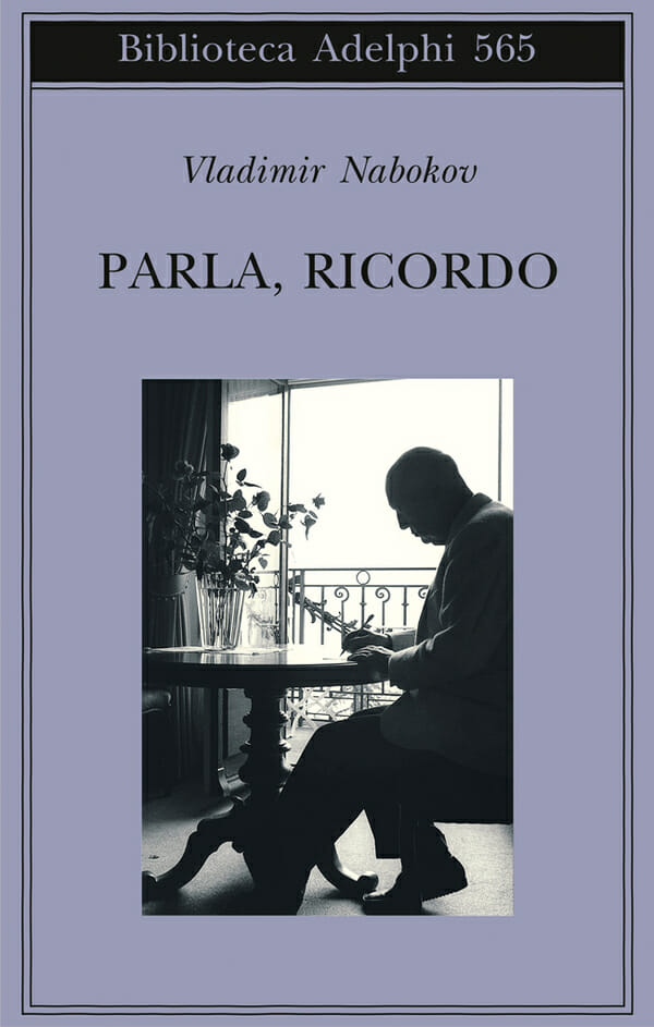 Vladimir Nabokov, Parla, ricordo