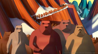 Buzzati, Mattotti e la famosa invasione degli orsi al cinema