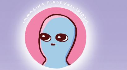L'approdo degli alieni azzurri: