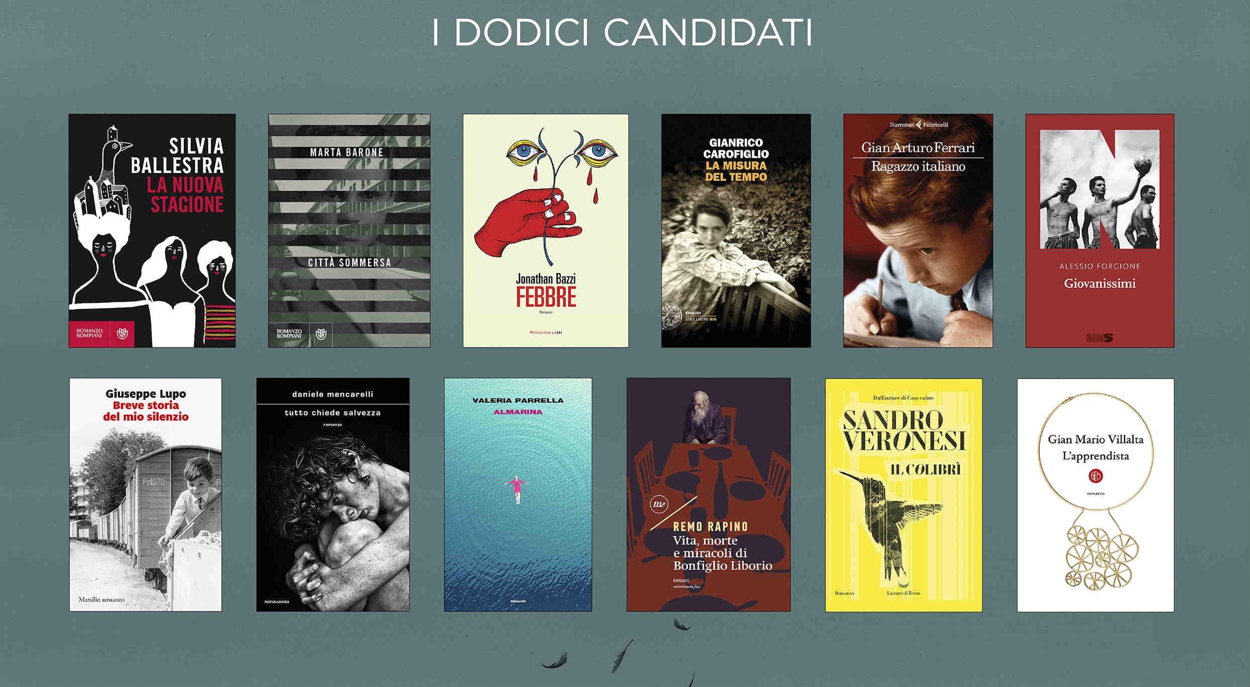 Premio Strega 2020: i 12 libri che si giocano la cinquina