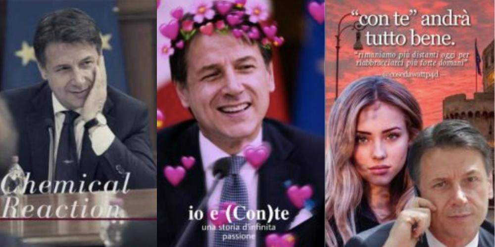 Fan fiction: il nuovo protagonista è Giuseppe Conte