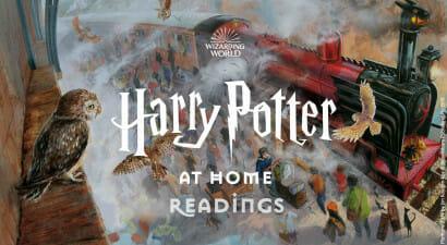 Harry Potter At Home Readings:  Daniel Radcliffe legge il primo capitolo della saga