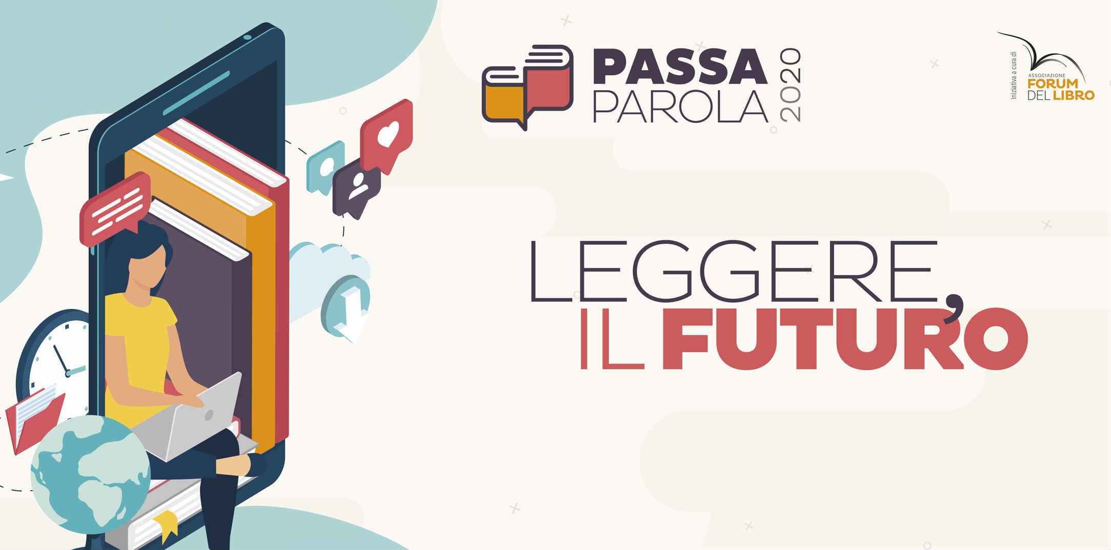 """""""Passaparola 2020"""", online le sfide del mondo della lettura"""