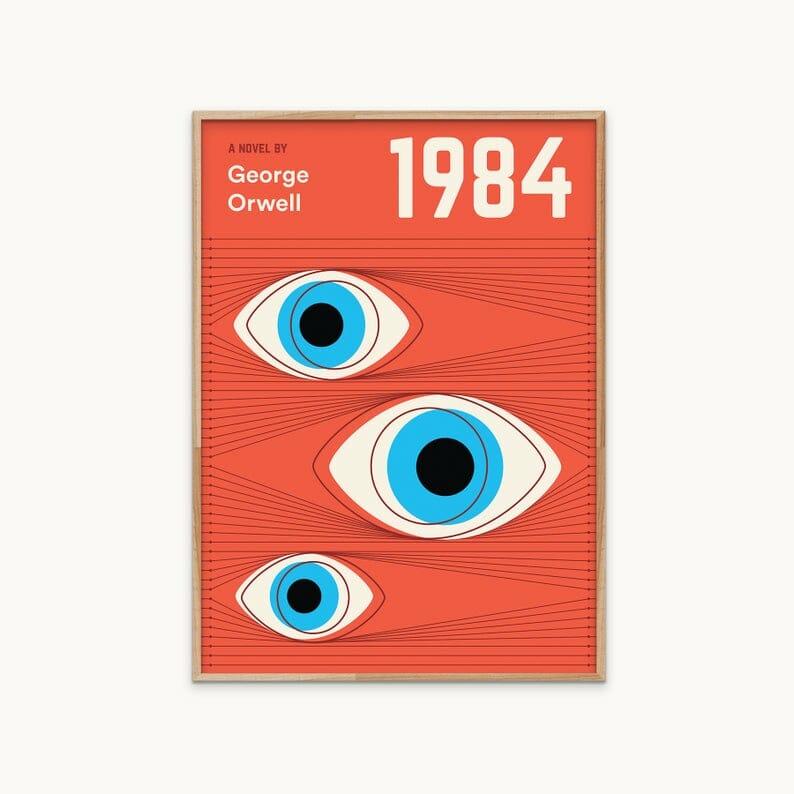 poster libri 1984