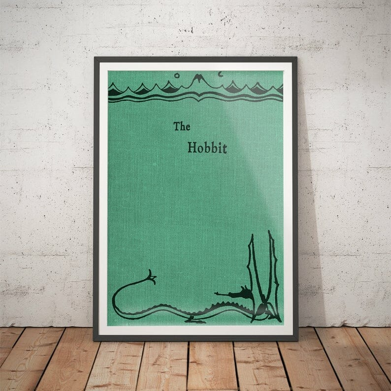 poster libri lo hobbit