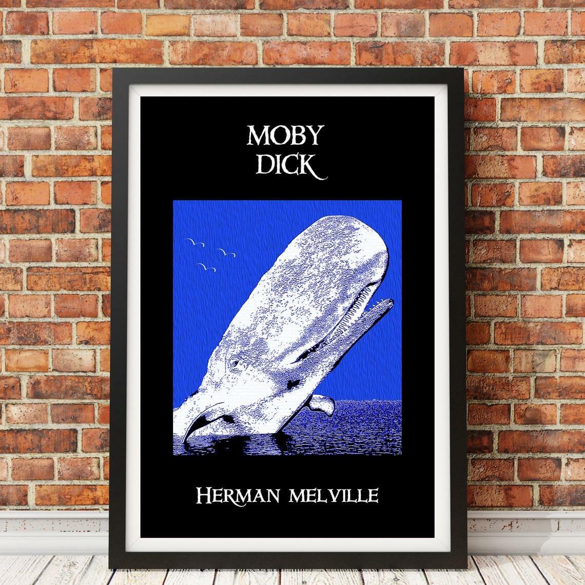 poster libri moby dick