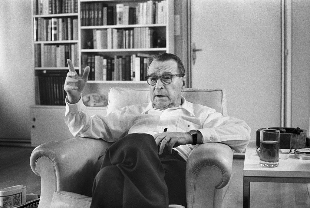 Georges Simenon GettyEditorial 30-07-2020