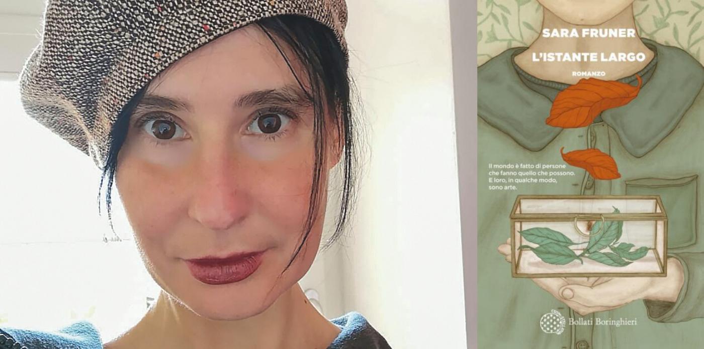 """Solitudine, scrittura e magia: Sara Fruner racconta """"L'istante largo"""""""