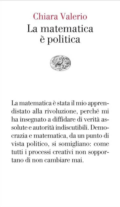 chiara valerio la matematica è politica