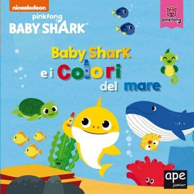 copertina del primo libro di baby shark