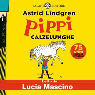 copertina audiolibro per bambini pippi calzelunghe
