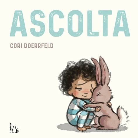 copertina del libro per bambini Ascolta di Cori Doerrfeld