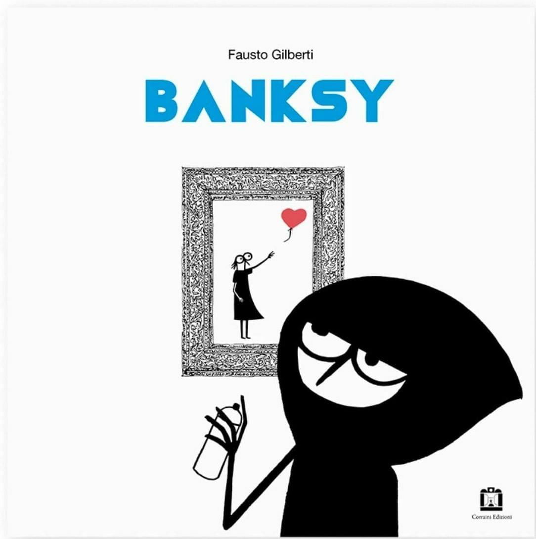 copertina del libro per bambini Bansky di Fausto Gilberti
