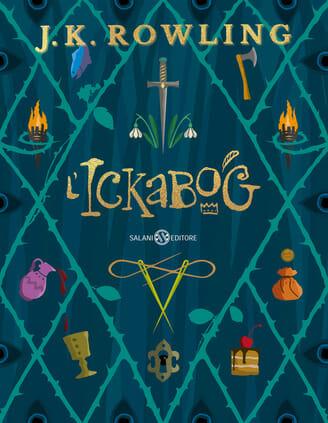 copertina del libro per bambini L'Ickabog di J. K. Rowling