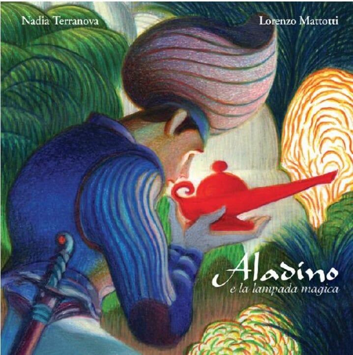 libri per bambini, copertina del libro Aladino di Nadia Terranova