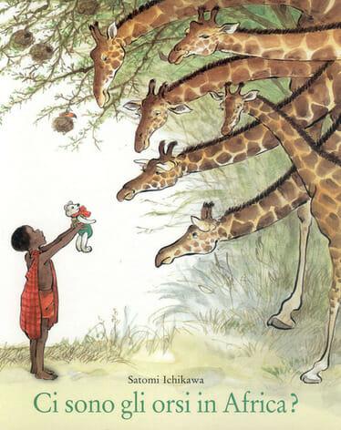 libri per bambini, copertina del libro Ci sono gli orsi in africa