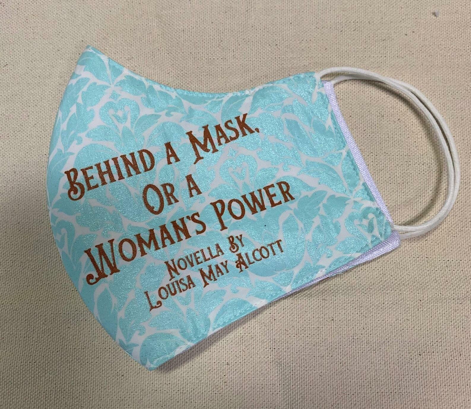 mascherina in tessuto louisa may alcott