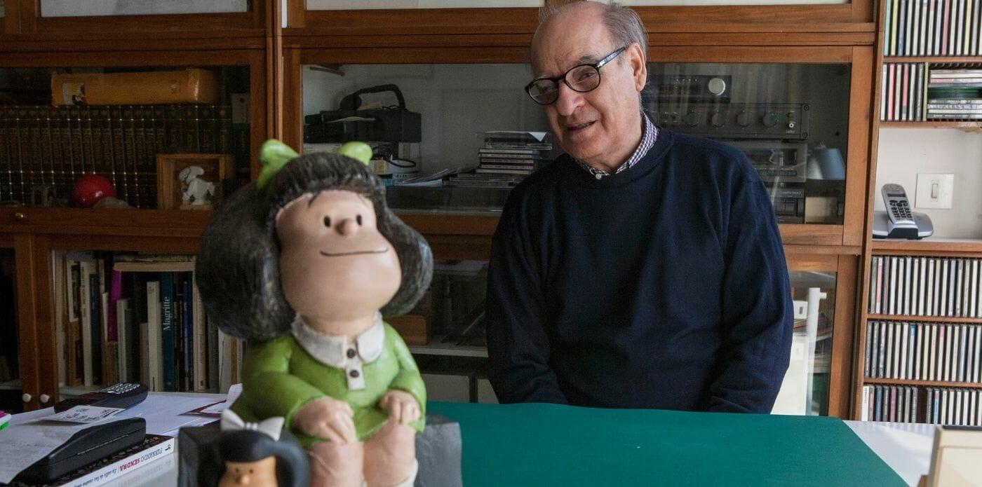 Addio a Quino, l'ideatore di Mafalda