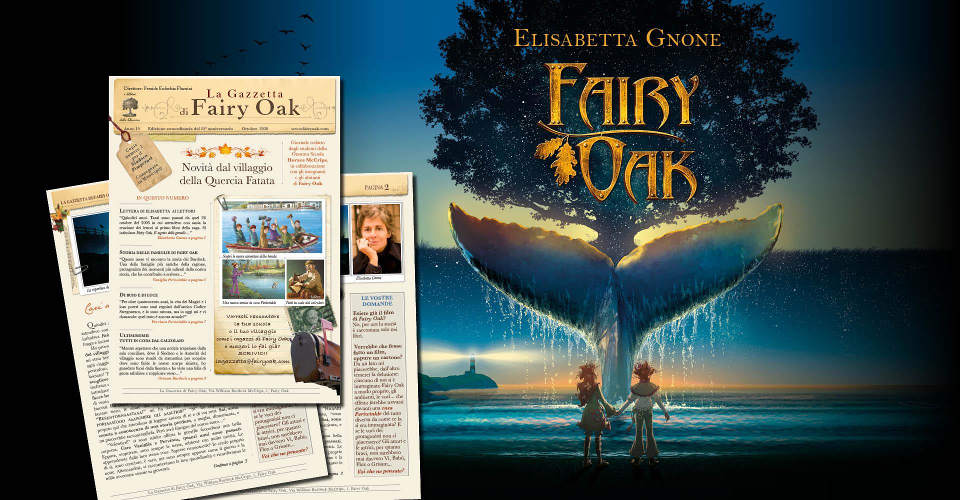 """""""La Gazzetta di Fairy Oak"""": in esclusiva il giornale della saga-bestseller"""